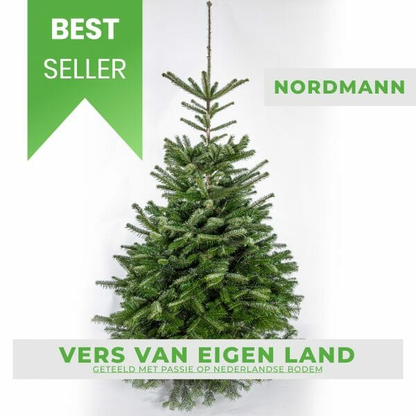Nordmann kerstboom kopen bestseller
